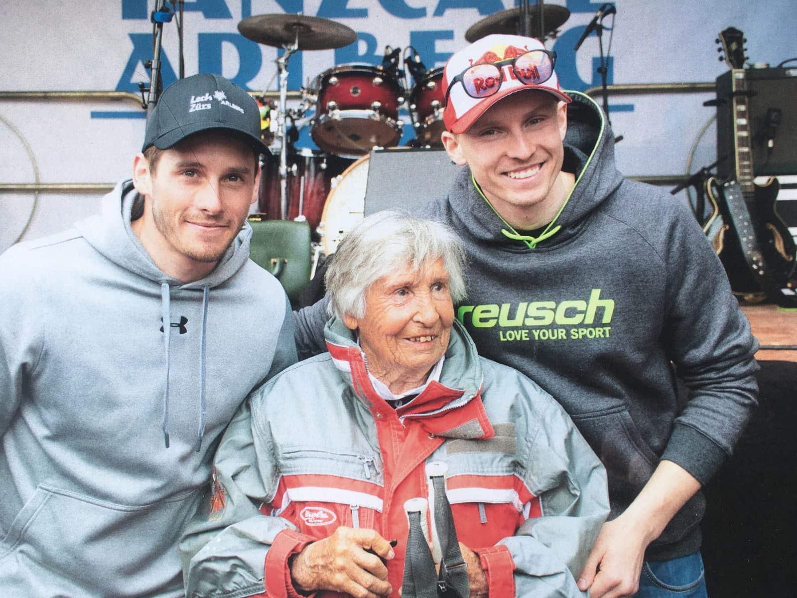 Magnus Walch, Trude Jochum-Beiser & Chris Kristofferson (Dezember 2018)